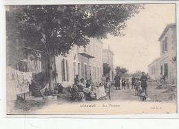 CPA- MIRAMAS -Rue Voltaire-dép13(dos Vert) - Frankrijk