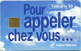 Catégorie Communications - Pour Appeler Chez Vous ... (Recto-Verso) - France