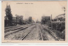CPA- MIRAMAS- Entrée En Gare-dép13(dos Vert) - France