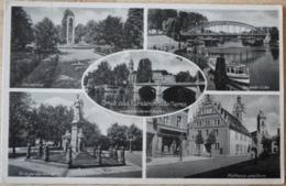 Fürstenwalde Spree Ehrenmal Kriegerdenkmal Spreebrücke Rathaus Dom Hafen Feldpost - Fürstenwalde