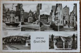 Bad Orb Marktbrunnen Kleines Haus Meistergasse Obertor Bahnhof Kirchentreppe - Bad Orb