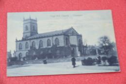 Lancashire Liverpool Edge Hill Church 1905 + Cancel Timbre Rare - Angleterre