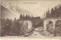 74 VIADUC DES TINES TRAIN CHEMIN DE FER A VOIX METRIQUE CHAMONIX MONT BLANC CHATELARD MARTIGNY Ed: CATALA N° BF 63 - Chamonix-Mont-Blanc