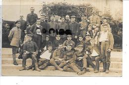 59 HALLUIN SOLDATS ALLEMANDS 1917 CARTE PHOTO - Francia