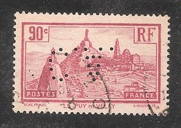 Perforé/perfin/lochung France No 290 C.A. (20) - Perfins
