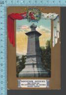 Quebec - Souvenir Officiel Tri-centenaire -1608-1908 - Monument Jacques Cartier - Québec - La Cité