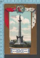 Quebec - Souvenir Officiel Tri-centenaire -1608-1908 - Monument  Des Braves - Québec - La Cité