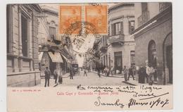 Buenos Aires (ARG) , Calle Cuyo Y Esmeralda , Edita Da J. Peuser N.149  - F.p - Primi Anni '1900 - Argentina