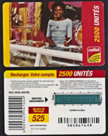 Tc028 DR CONGO, Celtel, Lady In Shop, 2500 Unités, Used - Congo