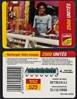 Tc027 DR CONGO, Celtel, Lady In Shop, 2500 Unités, Used - Congo