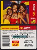 Tc020 DR CONGO, Celtel, Three Ladies, 500 Unités, Used - Congo