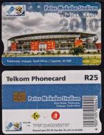 Tc017 SOUTH AFRICA, Telkom Phonecard, R25, Peter Mokaba Stadium, Used - South Africa
