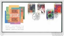 FDC De China Chine : (16) 1998 Hong Kong Designs SG936/9 - 1997-... Chinese Admnistrative Region
