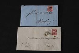 DEUTSCHES REICH Brief/ Brieffrontseiten-Posten ....195 (F) - Briefmarken