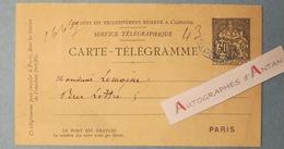 Général Raoul LE MONTON DE BOISDEFFRE Né à Alençon - Carte Lettre Télégramme - Lemoine - Affaire Dreyfus - Autographes