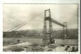 """4678"""" LAS ARENAS (VIZCAYA)-PUENTE DE VIZCAYA """"ANIMATA-CART. POST. OR. SPED. 1957 - Vizcaya (Bilbao)"""