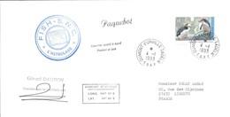 TAAF -Dumont D'Urville-T.Adélie: Lettre L'Astrobale Avec Timbre Australian Antartic Territory N°95 Manchots - 04/01/1993 - Lettres & Documents