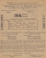 1926: Stad GENT: Bijeenroeping Van Het Kiescollege Van Gent / Convocation Du Collège électoral De Gand: - Documentos Históricos