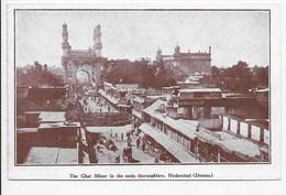 The Char Minar In The Main Thoroughfare, Hyderabad (Deccan) - India