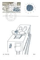 TAAF-Dumont D'Urville-T.Adélie: Carte Illustrée PEV Avec Timbre PA N°127 Base D10 De Départ Des Raids - 21/01/1993 - Lettres & Documents