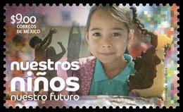 2018 MÉXICO Nuestros Niños, Nuestro Futuro MNH, Our Children, Our Future - Mexico