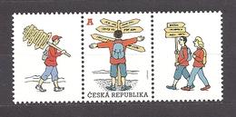 Czech Republic 2012 MNH ** Mi 714 Zf Sc 3529 Regional Tourism – A, With Coupons.Tschechische Republik. - Czech Republic