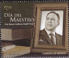 J) 2018 MEXICO, DAY OF THE MASTER, PROF. RAMON GUILLERMO BONFIL VIVEROS, MNH - Mexico