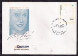 Argentina - 2002 - FDC - Eva Peron 1919-1952 - 50 Ans De Sa Mort - Persönlichkeiten