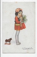 Young Girl With Toys - Bompard - Children