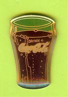 Pin's Coca-Cola Verre -  3DD12 - Coca-Cola