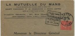 DAGUIN Temporaire Alençon 1932 - Annullamenti Meccaniche (Varie)