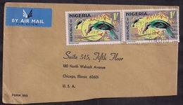 Nigeria - 1967 - Lettre - Poste Aérienne - Aérogramme - Martins-pêcheurs - Kingfisher - Oiseaux