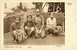 Indonesia, JAVA YOGYAKARTA DJOKJA, Javanese Batik Craftswomen (1920s) Postcard - Indonesië