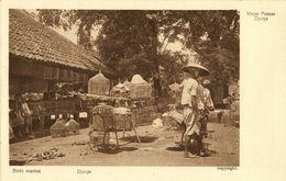 Indonesia, JAVA YOGYAKARTA DJOKJA, Bird Market (1920s) Postcard - Indonesië