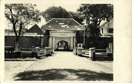 Indonesia, JAVA YOGYAKARTA DJOKJA, Fort Vredeburg, KNIL (1937) RPPC Postcard - Indonesië