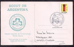 Argentina - 1993 - Lettre - Festival National De La Chanson Scoute - Scouting