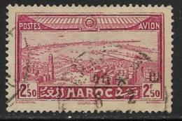 French Morocco Scott #C17 Used Casablanca, 1933, Thin - Marocco (1891-1956)