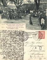 Indonesia, JAVA YOGYAKARTA DJOKJA, Royal Wedding, Groom On Horse (1911) Postcard - Indonesië