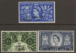KUWAIT. QE2. 1952. CORONATION. UN/M. - Gran Bretagna (vecchie Colonie E Protettorati)