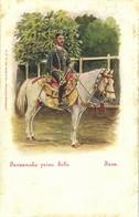 Indonesia, JAVA SURAKARTA SOLO, Javanese Prince On Horseback (1899) Postcard - Indonesië