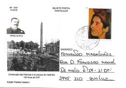 Portugal Private Used CUF Alfredo Da Silva Stationary Card - Interi Postali