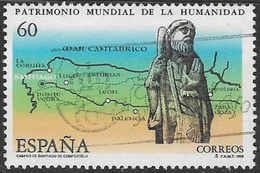 Spain SG3354 1995 World Heritage Sites 60p Good/fine Used [40/32486/6D] - 1931-Today: 2nd Rep - ... Juan Carlos I