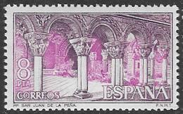 Spain SG2343 1975 San Juan De La Pena Monastery 8p Unmounted Mint [40/32489/6D] - 1971-80 Unused Stamps