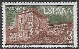 Spain SG2342 1975 San Juan De La Pena Monastery 3p Unmounted Mint [40/32490/6D] - 1971-80 Unused Stamps