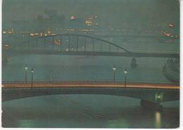 °°° 13368 - JAPAN - THE EVENING VIEW , RIVER SUMIDA - 1967 With Stamps °°° - Tokyo
