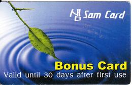 AUSTRALIA - Sam By Raynet Australia Pty Promotion Prepaid Card, Used - Australia