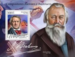 Mozambique 2019 German-Austrian Composers  ,Richard Wagner    S201905 - Mozambique