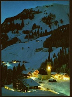 Winterabend In Schröcken / Bregenzer Wald  -  DJH-Ansichtskarte  Ca.1983     (11354) - Schröcken