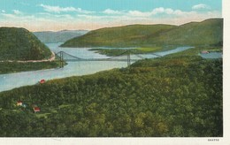 Bear Mountain Hudson River Bridge, Showing Highlands Of The Hudson, Looking South - NY - New York