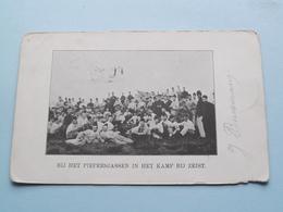 Bij Het Piepersjassen In Het Kamp Bij ZEIST () Anno Stamp 1901 > Amsterdam ( Zie/voir Foto Voor Details ) ! - Manoeuvres